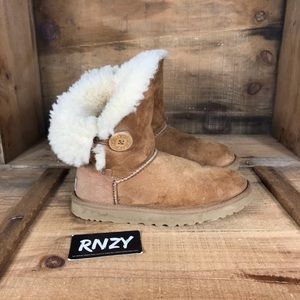 Ugg Shearling Lined Bailey Button Boot